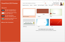 PowerPoint 2013 Design and Variant Theme