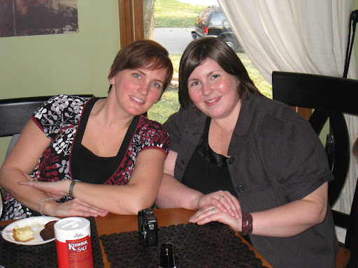 Shelley and Jodi...what's that on Jodi's left hand? A ring?