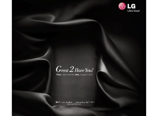 LG G2 invite