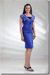nandagi in blue _dress