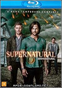 5414c9981cfb6 Sobrenatural 9ª Temporada Completa Dual Áudio Blu Ray 720p