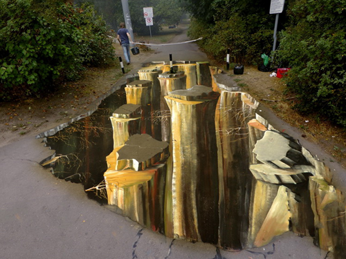 3D STREET PAINTING MOSCOW