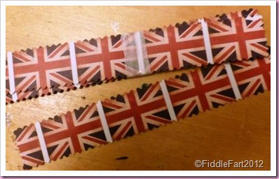 Union Flag Paper Chains