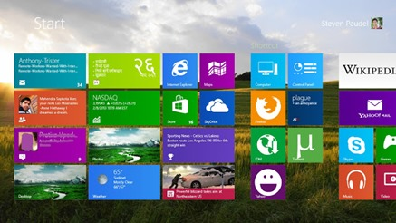 Windows 8 Start Screen Background Customizer