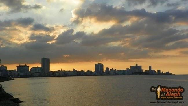 Atardecer en la Habana 1