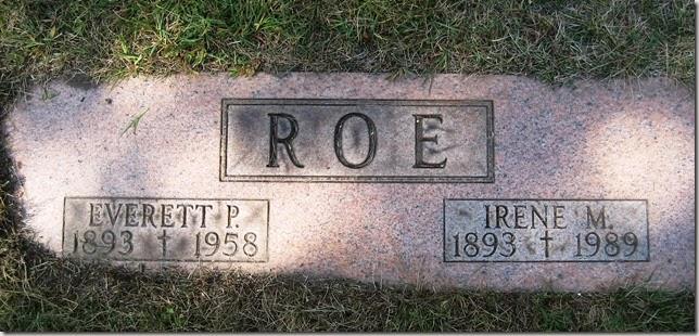 ROE_Everett & Irene M_WoodlawnCemDetroitMich