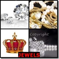 JEWELS- 4 Pics 1 Word Answers 3 Letters