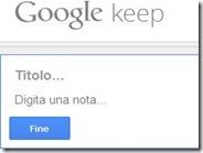 Scrivere e salvare note da ricordare online e sul cellulare con Google keep