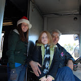 WBFJ in the Kernersville Christmas Parade - 12-5-10