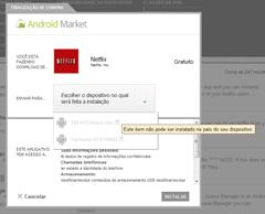 Android netflix brasil