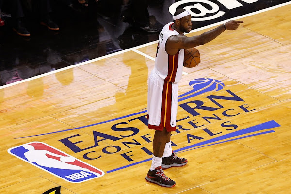 James Scores 36 But Late Turnovers Cost the Heat Game Two