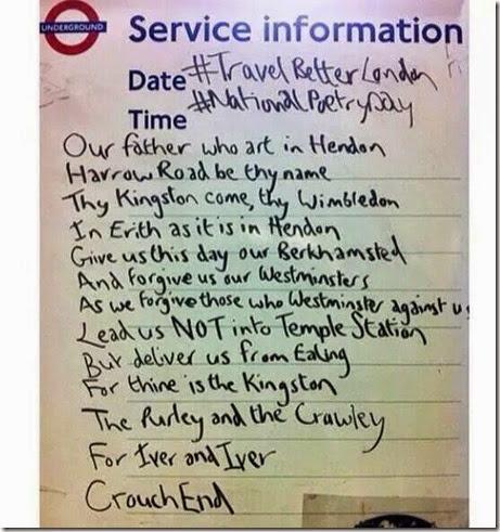 the london prayer