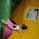 Tara Hayes at the BMC British Bouldering Championships 2011