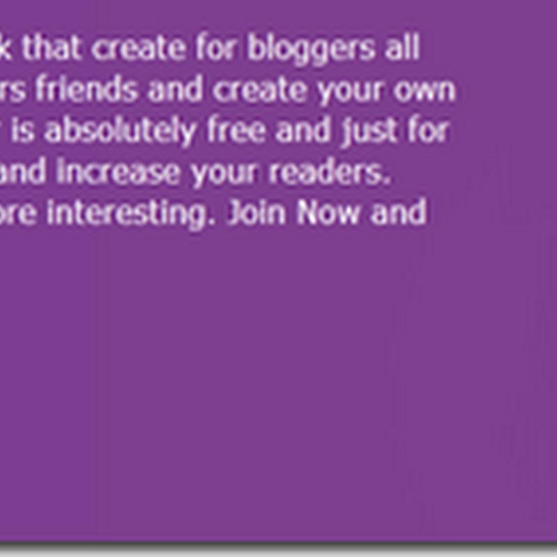 Socioblogger. Social Network blogger seakan facebook