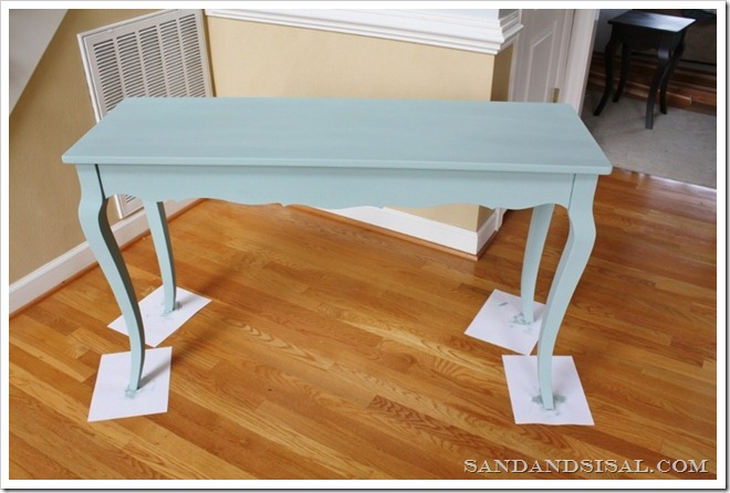 painting with chalk paint
