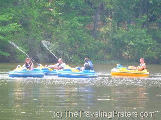 Blaster Boats at Callaway Gardens
