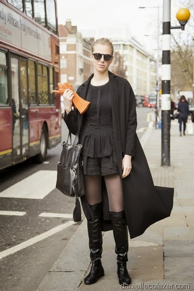 April street style in London 1