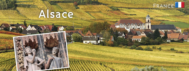 France - Alsace | http://www.thewayfarers.com/walking-tours/european-walking-tours/alsace/