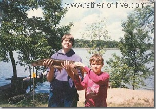 Steve and I - Lake Fannie