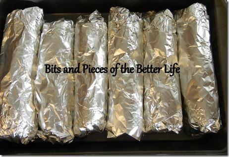 Burrito pile