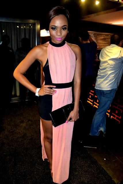 Bonang Matheba TV presenter and style icon, south africa