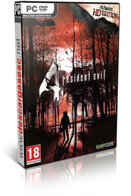Resident Evil 4 Ultimate HD Edition-RELOADED-cover-box-art-www.descargasesc.net
