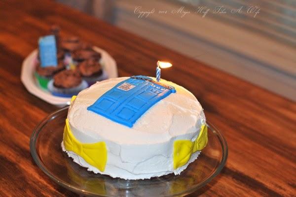 Tardis Birthday Cake for Teenager