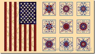 freedom's star panel