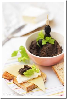 Przy dużym stole: Tapenade - prowansalska pasta z czarnych oliwek