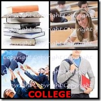 COLLEGE- 4 Pics 1 Word Answers 3 Letters