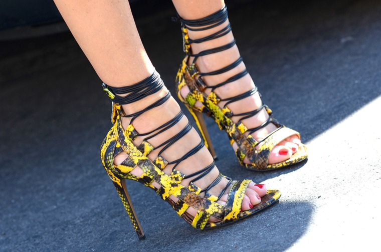 NobodyKnowsMarc.com Gianluca Senese Paris Fashion week street style shoes high heels