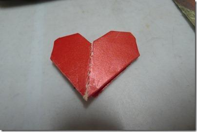 heart origami <3