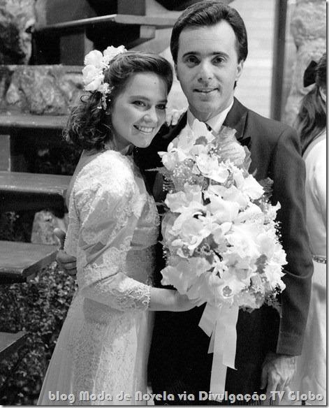 moda da novela felizidade - vestido de noiva da débora