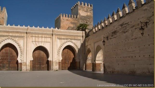 Bab El Seba, salida del Fes El Jedid