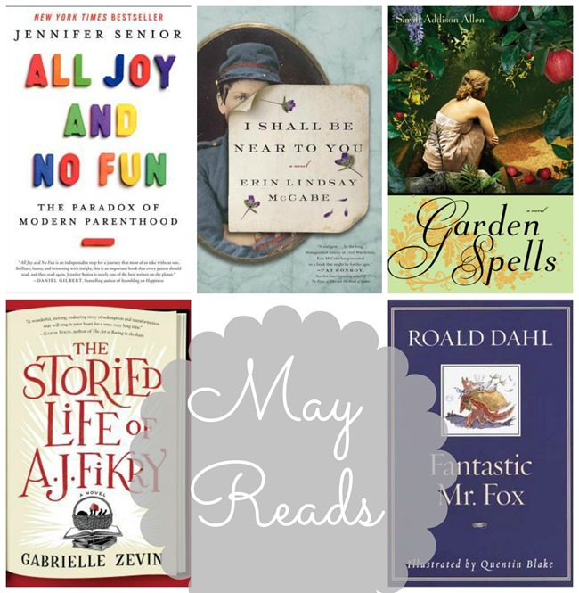 Books Read in May 2014 // www.maybematilda.com