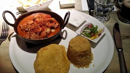 Chicken and Potato Madras