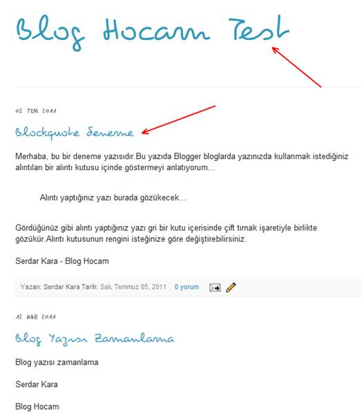 Blogger Cufon Kullanımı
