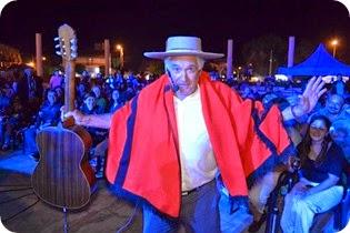 Orlando Vera Cruz, la figura del Encuentro Santosvegano de Payadores