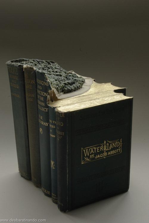 livros montanhas entalhados esculpidos desbaratinando (7)