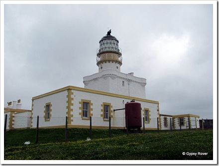 Fraserburgh lighthouse museum. Kinnaird castle was the first light house in 1787. This tower built 1824.