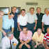 Foto tirada por ocasião do almoço no Restaurante Avenida de antigos alunos do CPOR, em junho de 2004. Da esquerda para a direita: Agachados: Guilhon, Dirceu, Bassalo e Aguiar. Em pé: Elói, Kalume, Pinho, Amílcar, Miranda, Pantoja e Dourado.