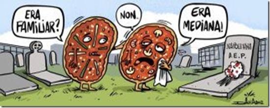 El funeral de la pizza