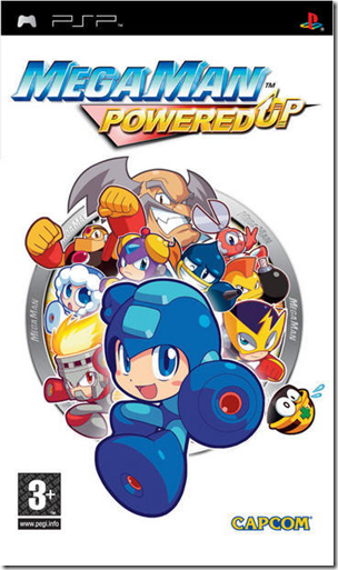 Download Mega man Powered Up PSP Games [TESTED]