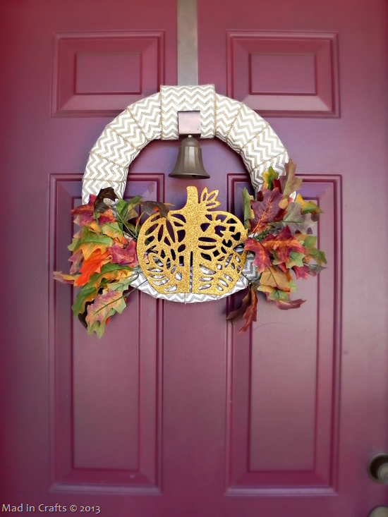Front Porch Fall Colors year round wreath fall
