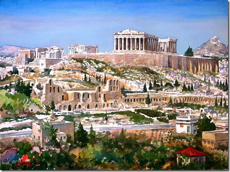 Athens-Acropolis-painting-01