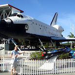 united states space shuttle - the explorer in Cape Canaveral, Florida, United States