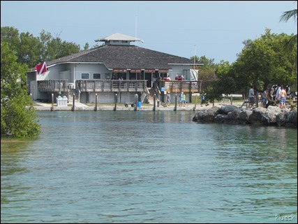 channel back to Bahia Honda boat dock