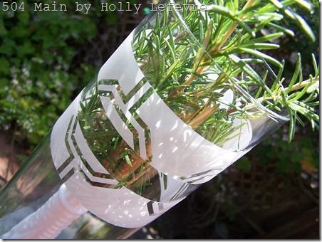 rosemary vase