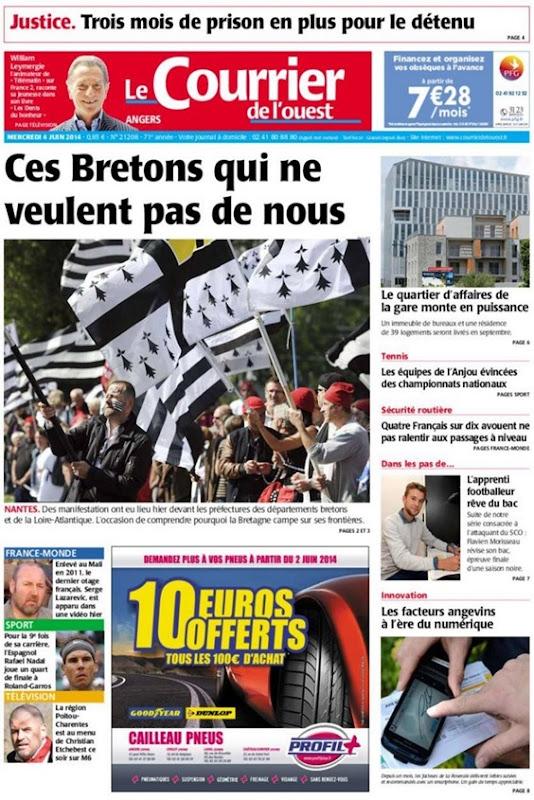 los Franceses que lor agrada pas Bretanha