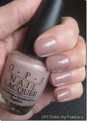 Opi S Tickle My France Y Is To Date Favourite Polish The Pale Creamy Beige Champagne Tones Are Particularly Elegant And Expensive Looking